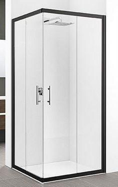 Novellini Zephyros A Corner Entry Shower Enclosure Tall Cabinet Storage, Locker Storage, Corner Door, Black Shower, 10 Frame, Grey Glass, Trim Color, Shower Enclosure, Shower Doors