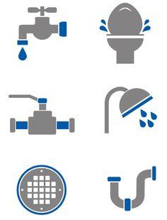 plumbing icons - Google Search