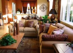 Tuscan Decorating Ideas for Living Room Tuscan Decorating Ideas tuscany decorating luv this style Pinterest
