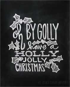 Chalkboard Print - Digital File 8x10 and 5x7 - Christmas Printable - Holiday Decor by garvinandco on Etsy https://www.etsy.com/listing/165501413/chalkboard-print-digital-file-8x10-and