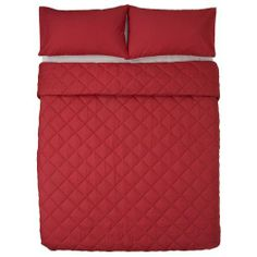 Combed Polycotton   144 Thread count   Rich colour   Matching pillowcase(s)   Durable   Easy Care