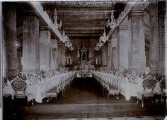SIAM CAMBODGE Thaïland ntérieur Palais Photo Vintage Argentique ca 1930