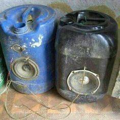 Talk of ingenuity! Recycling old water storage drums to make speakers! African Drum, Drums Beats, Water Storage, Save Water, Weird And Wonderful, Mason Jar Lamp, Emergency Preparedness, South Africa, Make It Simple