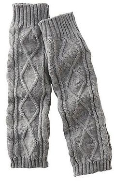 Pin for Later: Warm Their Hearts With These Cosy, Festive Fashion Gifts Uniqlo Heattech Knitted Leg Warmers Uniqlo Heattech Knitted Cable Leg Warmers (£10)