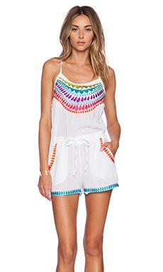 Shop for Trina Turk Baja Romper in White at REVOLVE. Free 2-3 day shipping and returns, 30 day price match guarantee.