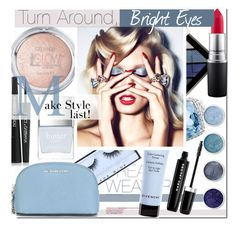 """Turn Around, Bright Eyes"" by kusja ❤ liked on Polyvore featuring beauty, Huda Beauty, Givenchy, Burberry, John Hardy, Topshop, Terre Mère, MAC Cosmetics, Marc Jacobs and MICHAEL Michael Kors"