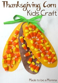 Thanksgiving Corn Kids Craft