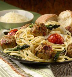al fresco ® Recipe - Linguini With Roasted Vegetables & Italian Style ...