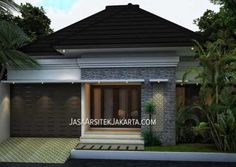 Style Bali, Interior And Exterior, Interior Design, Residential Architecture, Minimalist Home, My House, House Plans, Villa, Cottage