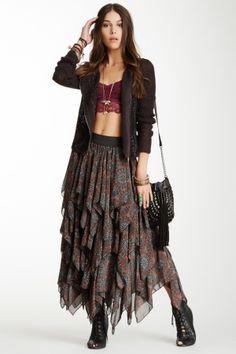 Tutu Printed Layered Skirt on HauteLook