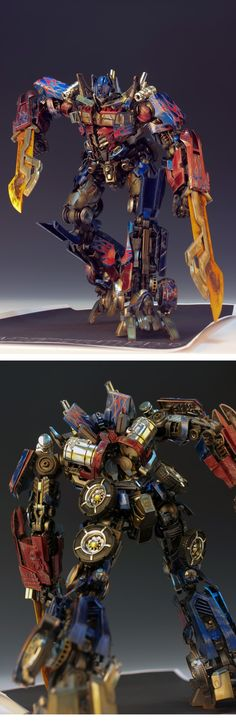 Transformers ROTF: DMK01 Optimus Prime. Latest Work by RedBrick. Full Photoreview Many Wallpaper Size Images | ガンダム