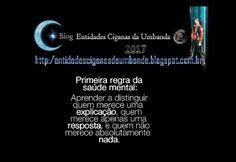 Entidades Ciganas da Umbanda (Clique Aqui) para entrar.: SAÚDE MENTAL
