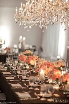 Wedding Reception Tablescapes | Weddings Romantique
