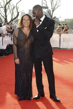 Pin for Later: Idris Elba Makes a Lovey-Dovey Red Carpet Appearance With His Rumored Ex-Girlfriend