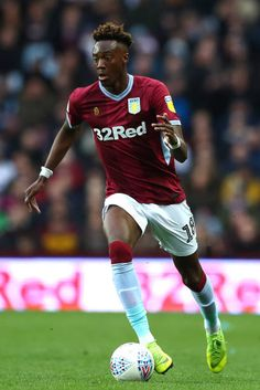 Tammy Abraham of Aston Villa in action during the Sky Bet Championship match between Aston Villa and Middlesbrough at Villa Park on March 2019 in Birmingham, England. Get premium, high resolution news photos at Getty Images Tammy Abraham, Jack Grealish, Aston Villa Fc, Villa Park, Middlesbrough, Football Kits, My Church, Sports Stars, Birmingham