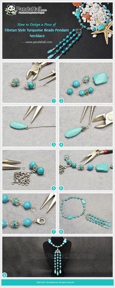 #PandaHall Inspiration Project---#TibetanStyle #Turquoise Beads #Pendant #Necklace #freetutorial #howto #diynecklace #jewelrymaking  PandaHall Beads App, download here>>>goo.gl/RAEuuP Free Coupons: PHENPIN5 (Save $5 for $70+) PHENPIN7(Save $7 for $100+) PandaHall Spring Promotion: UP TO 75% OFF, free Shipping over $349 from Feb.27-Mar.20,2018. Check here>>>goo.gl/YG9LPa