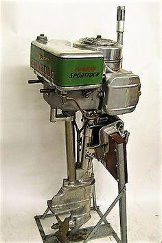 1937 Evinrude sportfour outboard motor.