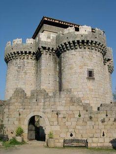 Castillo de Granadilla, Granadilla, Cáceres, España