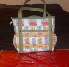Diaper Bags - via @Craftsy