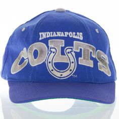 fc997c738 Indianapolis Colts Vintage Starter Hat The Natural Snapback NFL Football  1990 s