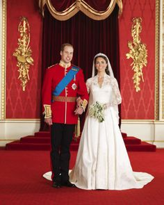 Prince William, Duke of Cambridge marries Catherine Middleton, now the Duchess of Cambridge.  Glossy 8x10 Photo Poster