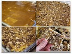saltine crackers into toffee candy - EASY