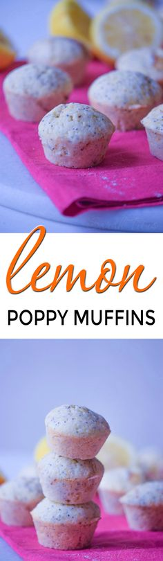 If you love lemon desserts, then these lemon poppy muffins are perfect for you! These make a great dessert or the perfect compliment to afternoon tea.