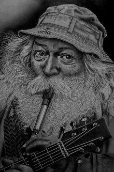 One man band by AngelasPortraits on DeviantArt