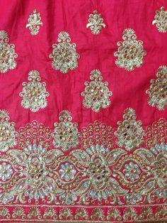 Pakistani Maxi Dresses, Textile Patterns, Textiles, Embroidery Saree, Border Design, Designer Dresses, Designers, Indian, Party