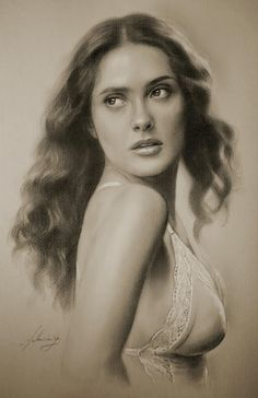 Polish artist krzysztof20d  creates wonderful drawings using 2b and 8b Pencils and clear pastel. He or She, (we have no more information ...