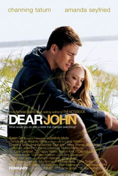 Dear John (3 stars) Standard chick flick. I didn't find the characters very likable, therefore I wasn't drawn into the romance. It all seemed so superficial to me. The connection was rushed. I did enjoy the reluctant love and eventual respect between John and his dad. The acting is good. Average movie that the ladies in the house think is a marvelous movie.