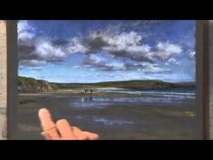 Landscape Painting in Pastel - Surface Color and Texture - DVD with Liz Haywood-Sullivan - YouTube