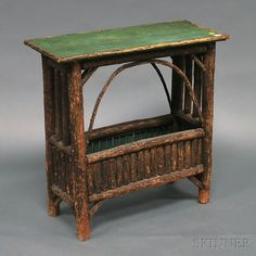 Adirondack-style Side Table | 19th C