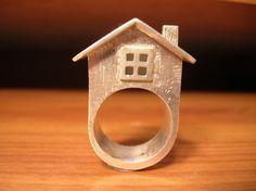 House Ring. $200,00, via Etsy.