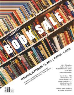 Library Advocate's Booksale, MN Branch, Sept 2014.