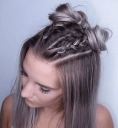 Looking for a fabulous hairstyle for your medium length hair? You just came to the right spot. Here is a lot to motivate you. for medium length hair 35 Medium Length Women's Hairstyles You Desire Hairstyles For Medium Length Hair Easy, Lazy Hairstyles, Medium Hair Cuts, Hairstyles For School, Medium Hair Styles, Braided Hairstyles, Curly Hair Styles, Hairstyles For Women, Braided Ponytail