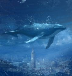 flying whales are awesome! :))