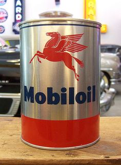 Mobil Oils and Lubricants are supplied in the UK by Chemical Corporation (UK)… Old Gas Pumps, Vintage Gas Pumps, Vintage Oil Cans, Vintage Ads, Vintage Signs, Pompe A Essence, Firestone Tires, Old Garage, Old Gas Stations