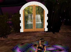 RozOBabyIN Portal Door to 12 fantasy rooms
