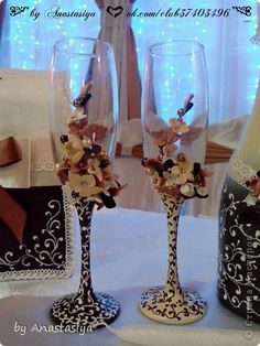 Декор предметов Свадьба Лепка Свадьба сестры в осенних цветах Фарфор холодный фото 4