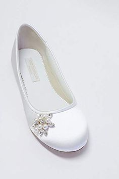 Flat Wedding Shoes - Ballet Flats - Choose From Over 150 Colors - Pearls - Crystals - Parisxox By Arbie Goodfellow - Wedding Shoes - Flats Fancy Shoes, Pretty Shoes, Beautiful Shoes, Me Too Shoes, Winter Wedding Shoes, Colorful Wedding Shoes, Première Communion, Communion Shoes, Wedding Sneakers