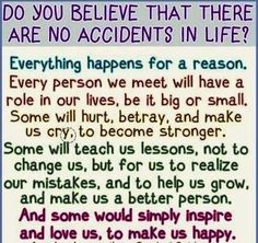 Everything happens for a reason. TRUST. {http://www.PureMatrimony.com/}