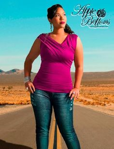 One of my favorite clothing lines for curvy women