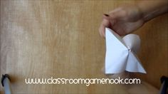 Chinese Fortune Teller Make-and-Take Game - Use it to review any concept