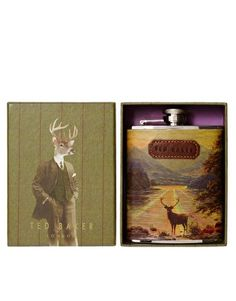 Ted Baker Stag Hip Flask