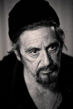 Al Pacino at the Broadway play 'The Merchant of Venice', 2010 // Lance Dawes