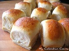 Piñita or Soft Bread Rolls! A colombian treat!