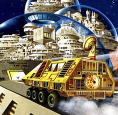 Brian Lewis - World of the Future, Future Cities, 1979. / The Science Fiction Gallery