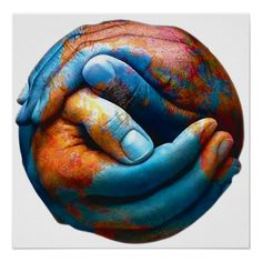 Shop Clasped Hands Forming Planet Earth World Peace Poster created by wallarts. Personalize it with photos & text or purchase as is! The Advocate Personality, Infj Personality, We Are The World, My World, First World, Jigsaw, Peace Poster, Les Fables, What Is Social