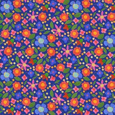 Pattern by Juday Adamson: Art Licensing from My Seat on the Bus: Pattern Parade